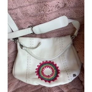 Gorgeous The SAK leather embroidered crossbody bag